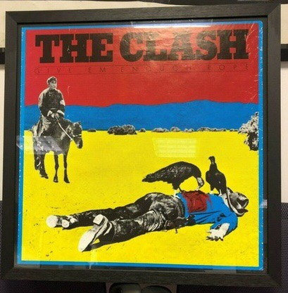 The Clash Give Em' Enough Rope.