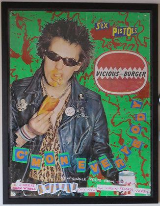 Sex Pistols 'Vicious Burger'