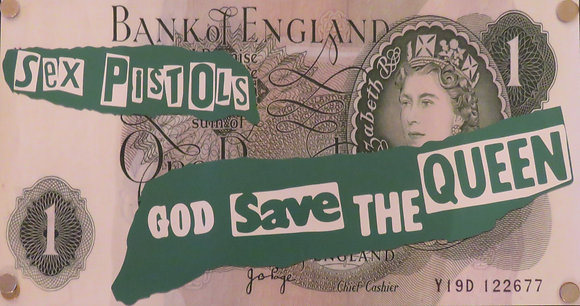 Sex Pistols £1 Note
