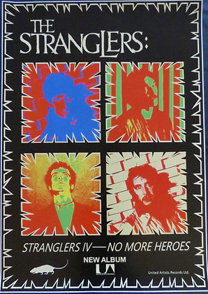 The Stranglers 'No More Heroes'