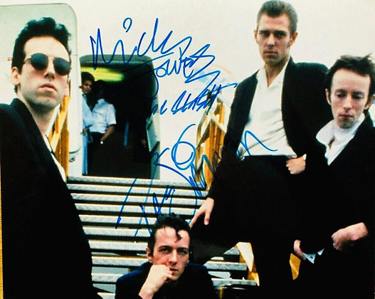 The Clash...signed 8x10.