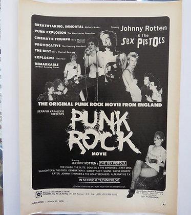 Punk Rock Movie press cutting