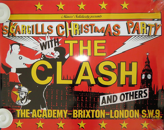 The Clash Brixton Academy Christmas Party