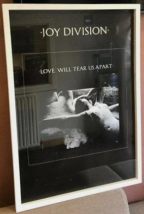 Joy Division...Original 1980 Love Will Tear Us Apart promo poster.