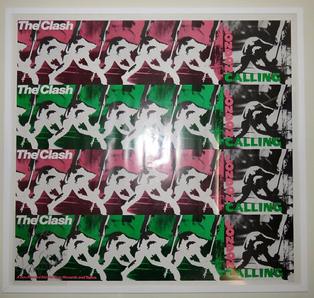 The Clash 'London Calling' Promo Poster
