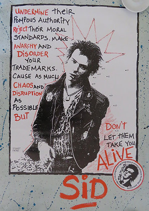 Sid Vicious 'Don't Let Them Take You Alive'