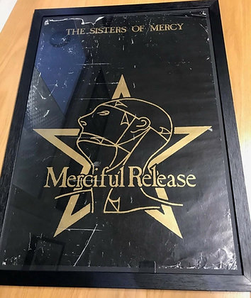 Sisters Of Mercy...Original Merciful Release promo poster.