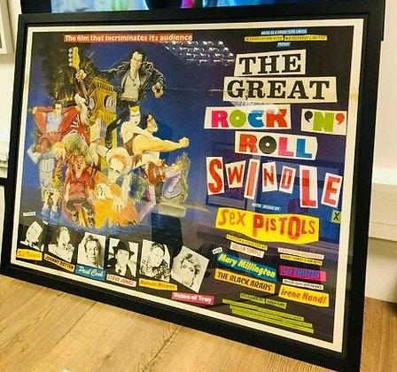 Sex Pistols..The Great Rock & Roll Swindle.