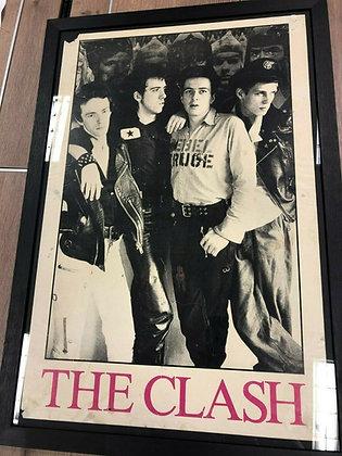The Clash...Original 16 Tons Tour promo poster.