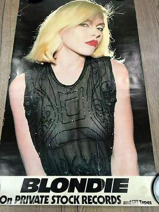 Blondie...Private Stock Records 1976 promo poster.