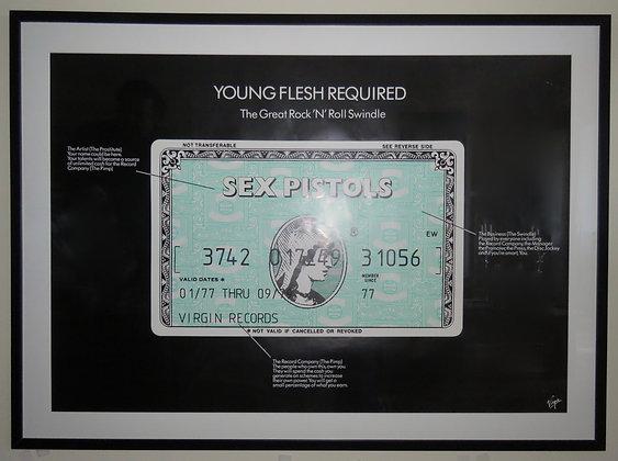 Sex Pistols 'American Express Card'