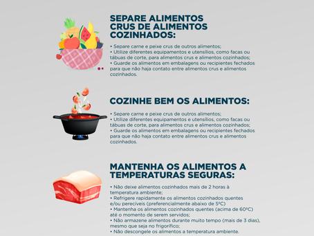 5 Chaves para uma alimentação segura