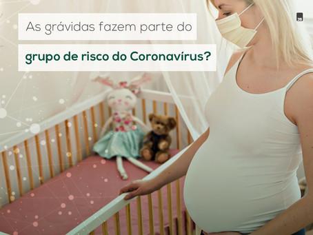 As grávidas fazem parte do grupo de risco do Coronavírus?