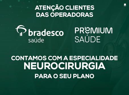 Atendimento para Bradesco saúde e Premium Saúde