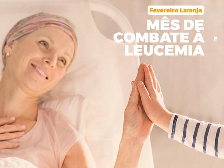 Fevereiro Laranja - Mês de Combate à Leucemia