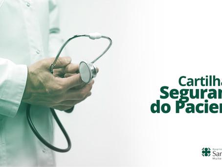 Cartilha | Segurança do Paciente