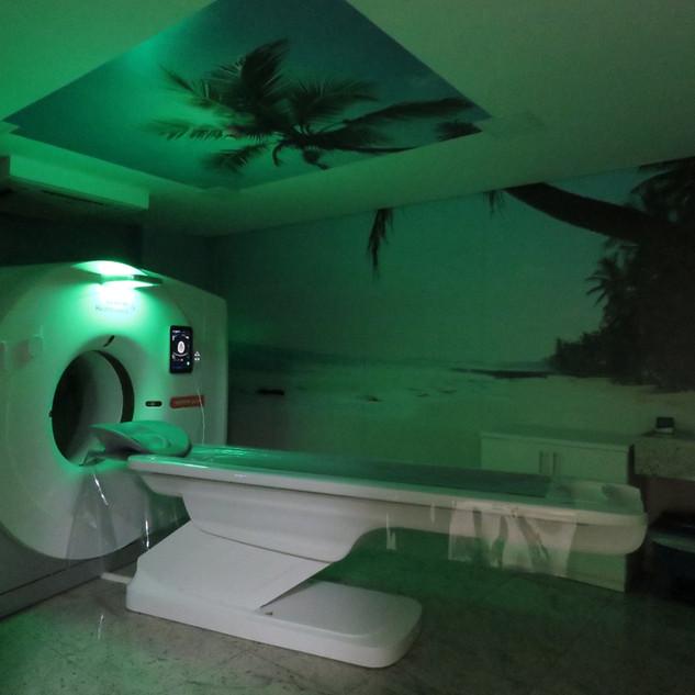 Sala de Tomografia