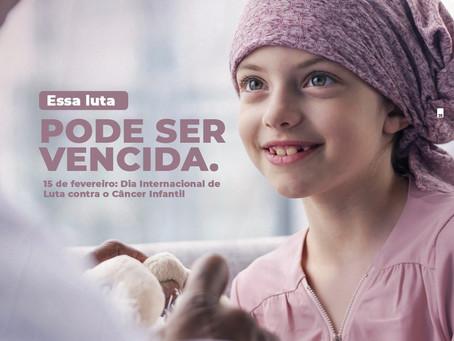 15 de Fevereiro- Dia Internacional de Luta contra o Câncer na Infância