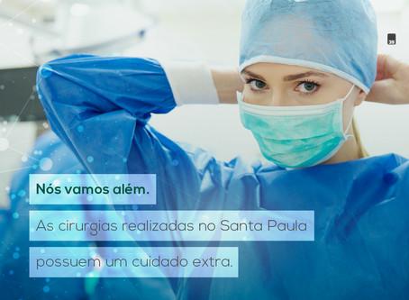 Cirurgias com um cuidado extra