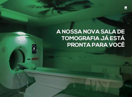 Nova sala de Tomografia