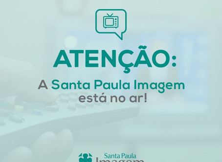 A Santa Paula Imagem estará na EPTV, rádio e redes sociais a partir deste mês de Junho