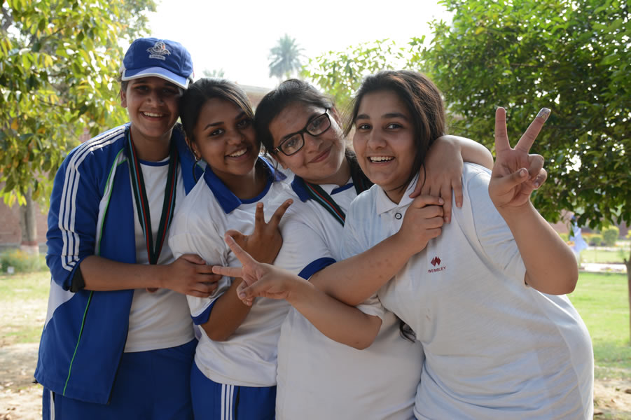 Sports Day Girls