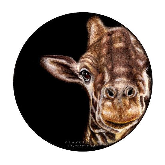 Giraffe | Giclée Print