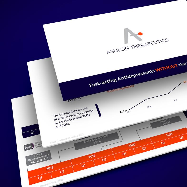 Investor Pitch Presentation Design