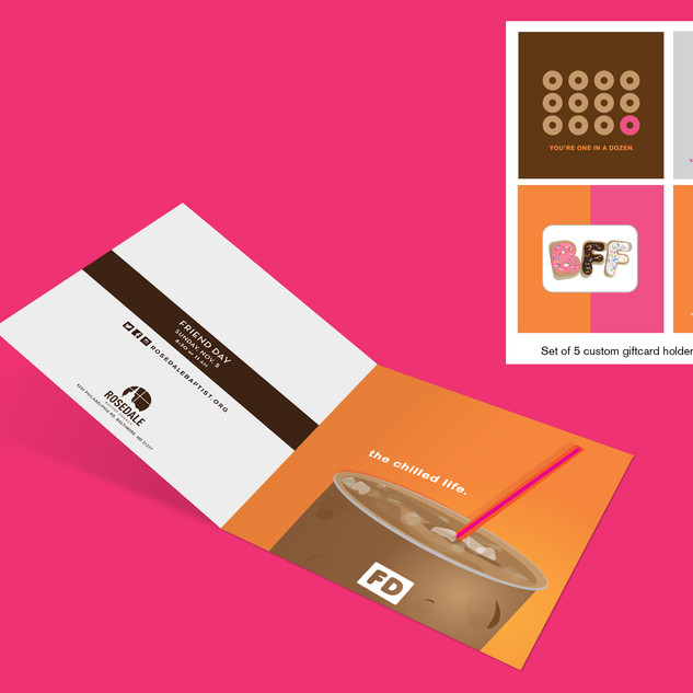 Promotional Event Giftcard Holders