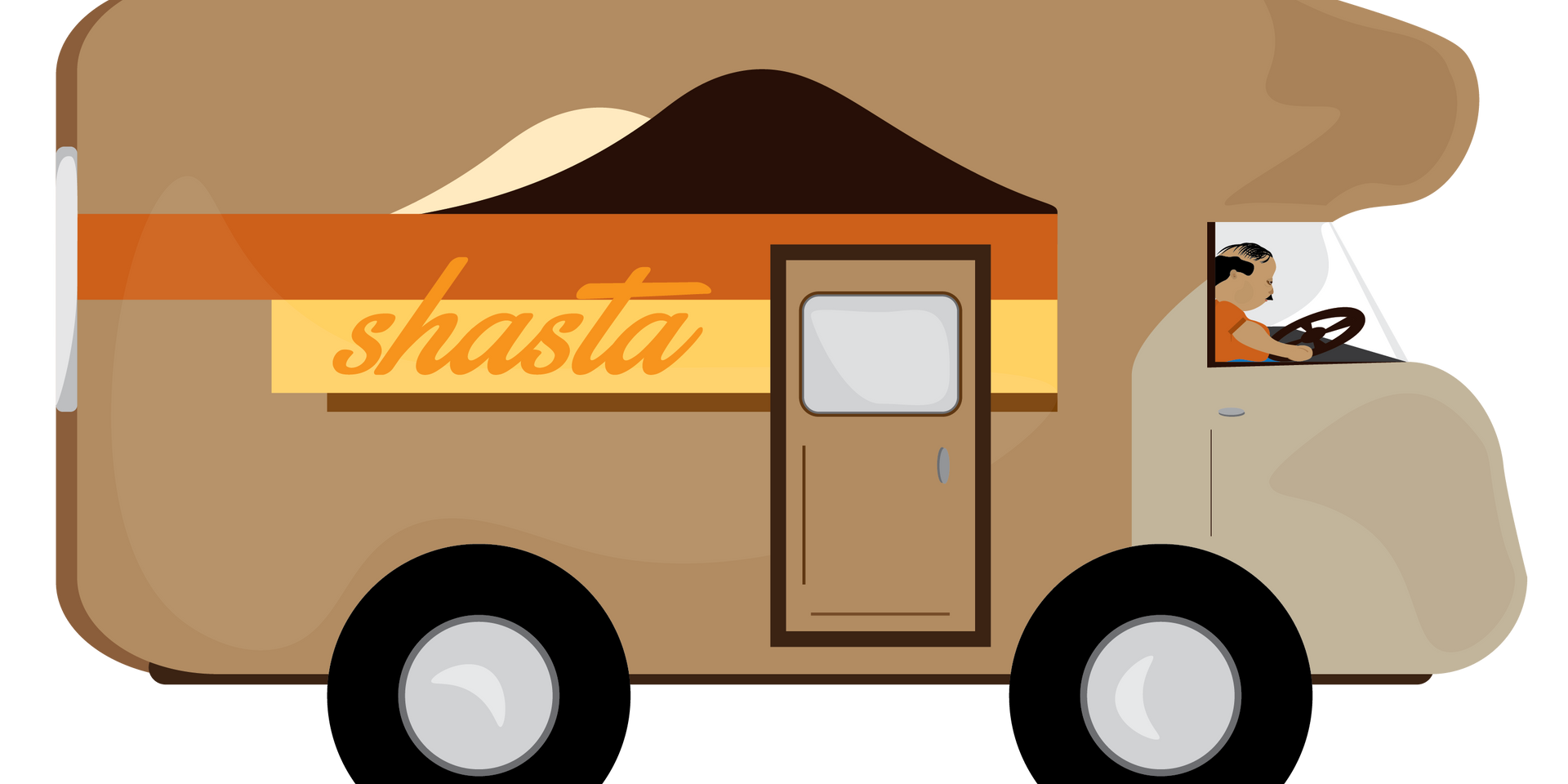Shasta RV Illustration
