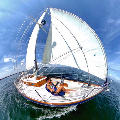 Sailing in Dartmouth, MA