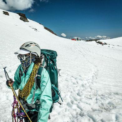 Mountaineering Mt. Baker in Washington