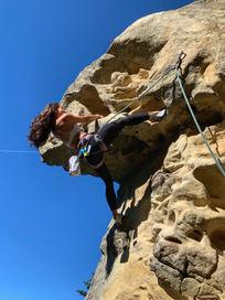 Climbing in Los Gatos
