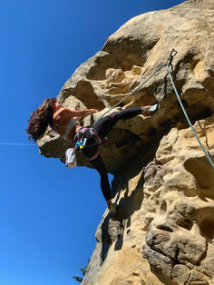 Climbing in Los Gatos