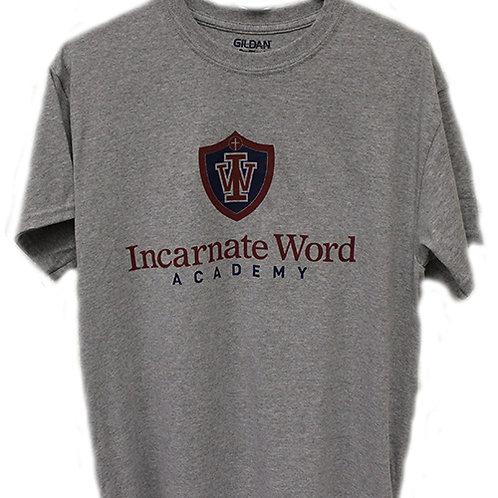 Gray IWA Logo Shirt