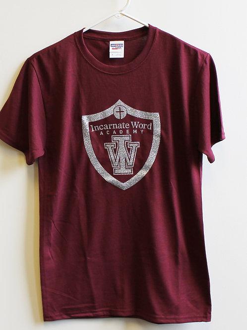 Glitter IWA Shield T-shirt