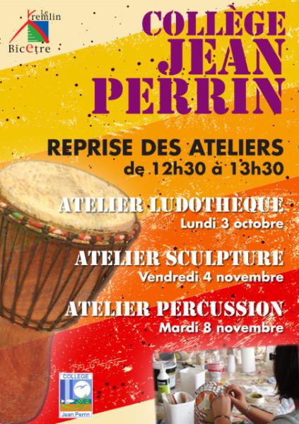 La pause méridienne au collège Jean Perrin !
