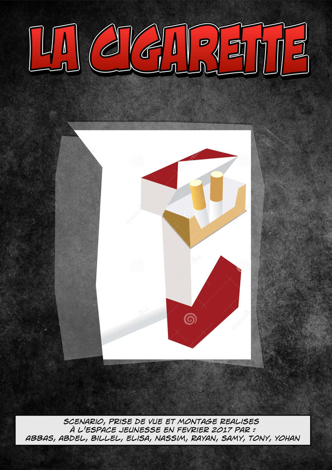 "Roman BD ""La cigarette"""