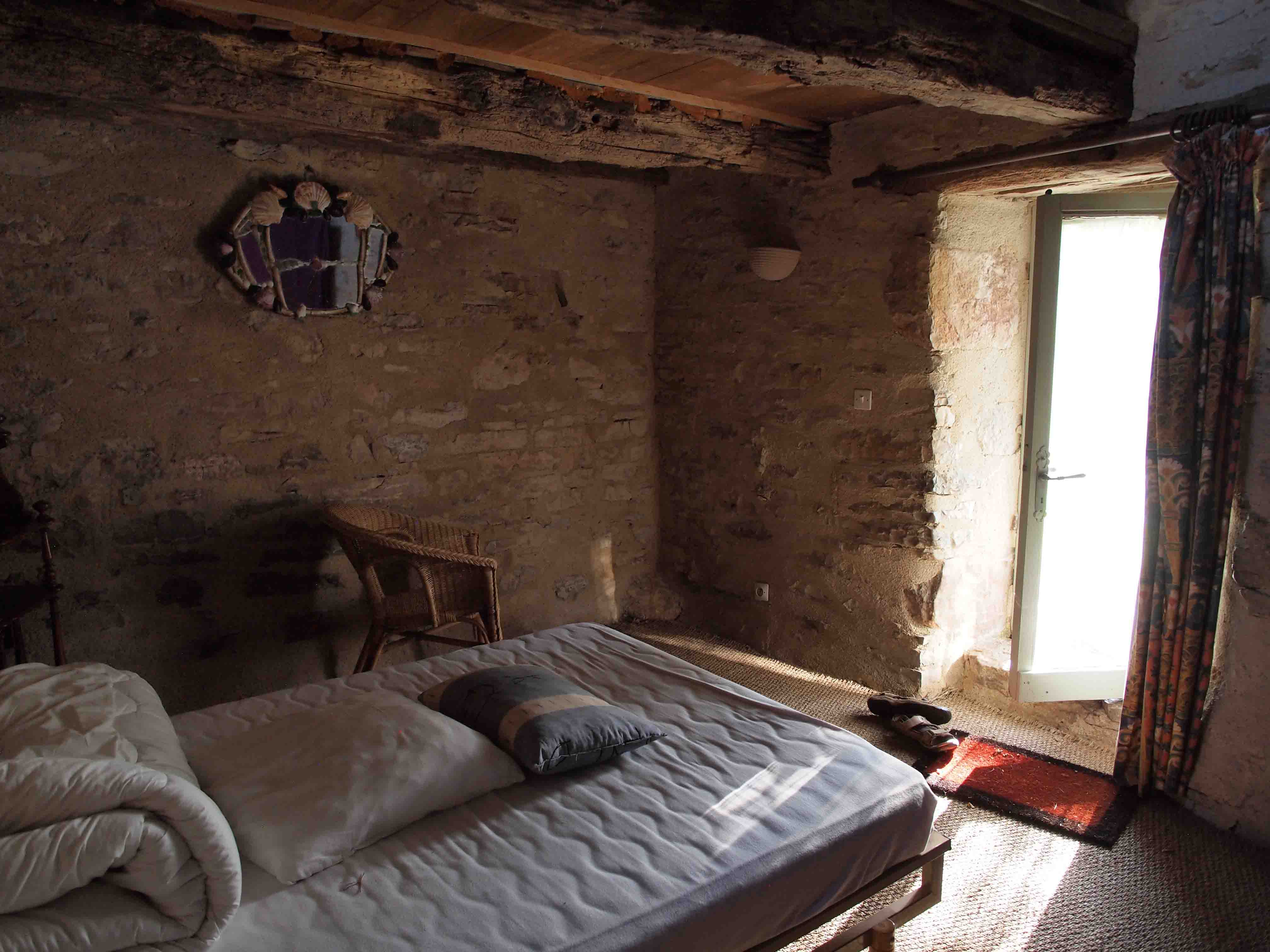 La chambre rez de chauspetite maison