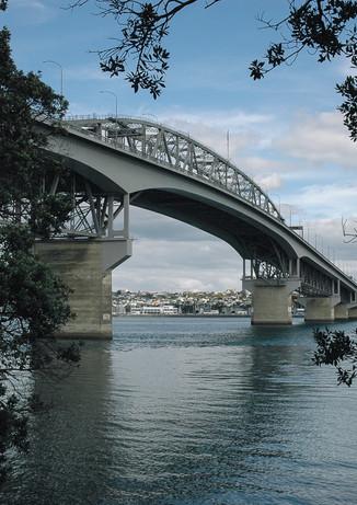 Auckland Harbour Bridge - Auckland