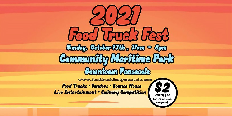 2021 Food Truck Fest at Maritime Park, Downtown Pensacola