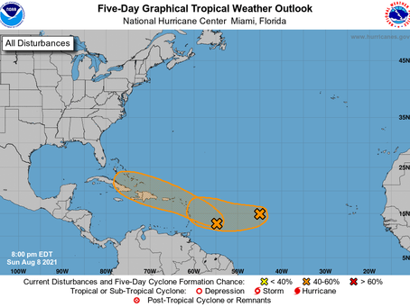 More than one storm on the way as schools open during the worst week of Florida's COVID-19 Pandemic