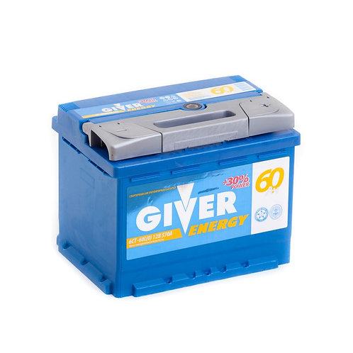 Аккумулятор GIVER ENERGY 6СТ -60.0