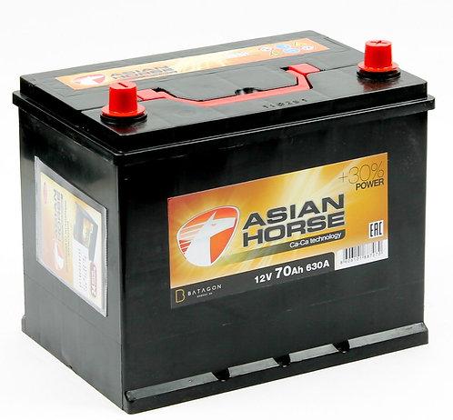 Аккумулятор Asian Horse 6СТ-70.0 бортик