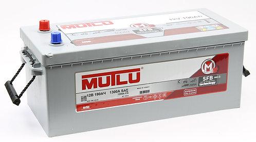 Аккумулятор Mutlu SFB M3 6СТ-190 евро.конус