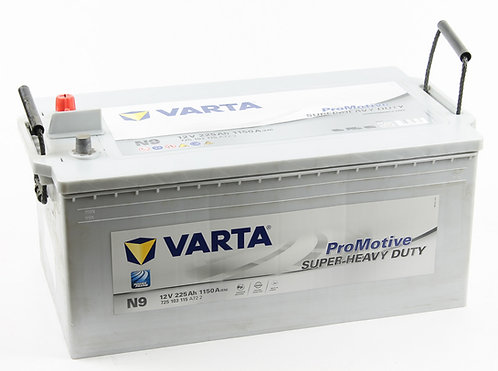 Аккумулятор Varta Promotive Super Heavy Duty 6СТ-225 (725 103 115) евро.конус