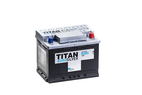 Аккумулятор TITAN EUROSILVER 6СТ-61.0 VL