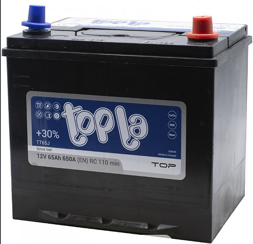 Аккумулятор Topla Asia Top (56568 SMF) 65 Ач 650 А обратная полярность