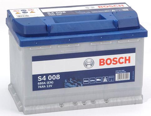 Аккумулятор BOSCH S4 74.0 (574 012 068)