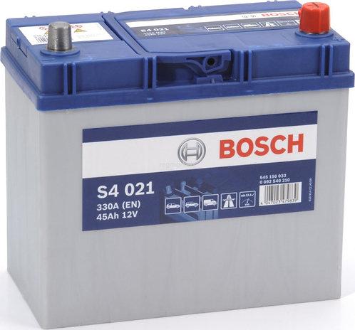 Аккумулятор BOSCH S4 45.0 (545 156 033) яп.ст